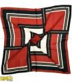 روسری قرمز مشکی