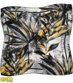 روسری طوسی زرد هاوایی