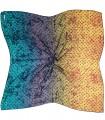 روسری پاییزه زمستانه نخی قواره بزرگ طیفی لویی ویتون کد 2471