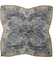 روسری پاییزه زمستانه نخی قواره بزرگ طرح سنتی کد 2472