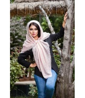روسری نخی ساده Lv