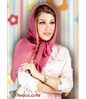 روسری نخی ساده رنگی