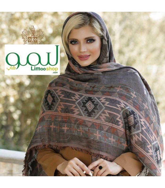 مدل روسری نخی پاییزه قواره بلند دخترانه شیک و جدید طرح سنتی |