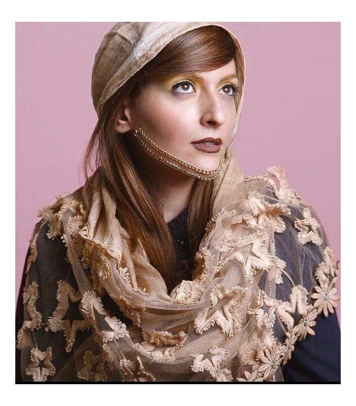 مدل شال مجلسی کار شده نخی دانتل دخترانه جدید مارک لیبرتی |