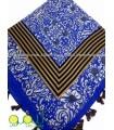 روسری نخی منگوله دار
