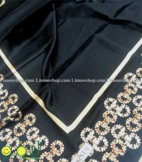 روسری مشکی طلایی 4120