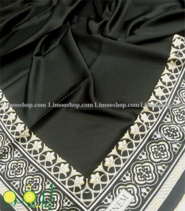 روسری مشکی طلایی 2734