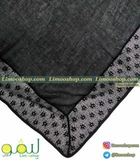 روسری مشکی دانتل