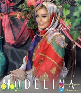 روسری کشمیر مدلینا