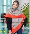 روسری مجلسی ابریشم توییل ساده