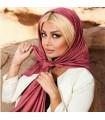 مدل جدید روسری نخی قواره بزرگ ساده دخترانه ژورنالی مارک لیبرتی