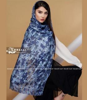 روسری طوسی نخی