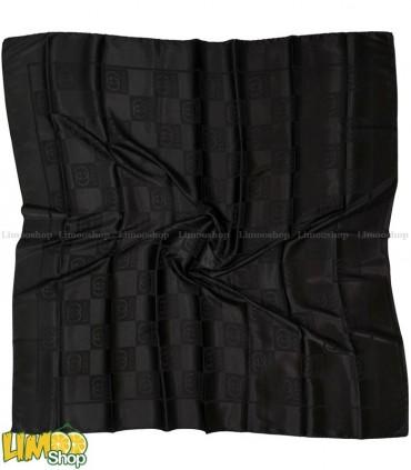روسری مشکی براق