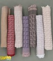 روسری پاییزه زمستانه ساده تک رنگ نخی قواره بزرگ مارک فندی کد 1476