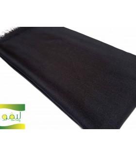 روسری نخی ساده قواره بزرگ تک رنگ