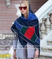 روسری پاییزه زمستانه نخی قواره بزرگ دخترانه کد 1614