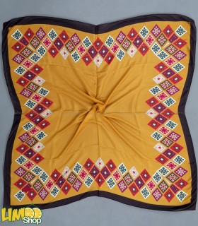 روسری خردلی